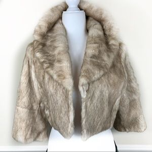 Arden B Fur Jacket Sz m